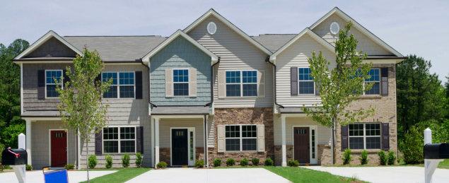 A Triplex House