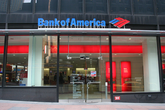 Bank of America Entrance