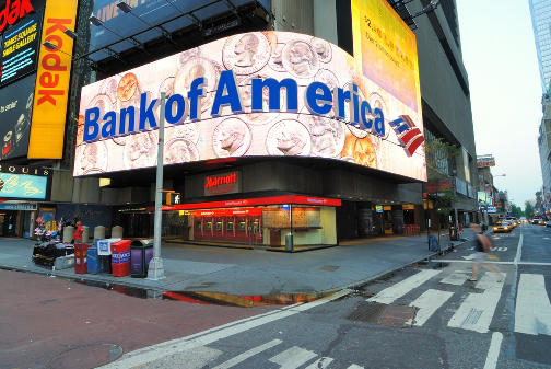 Bank of America in Times Square