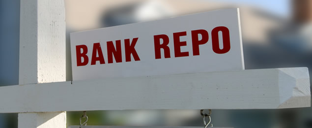 Bank Repo Sign