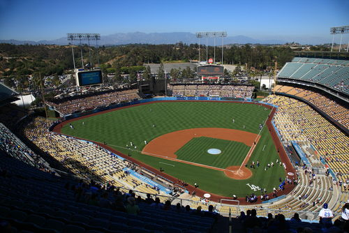 Foreclosure Starts Down Dodger Stadium in Trouble