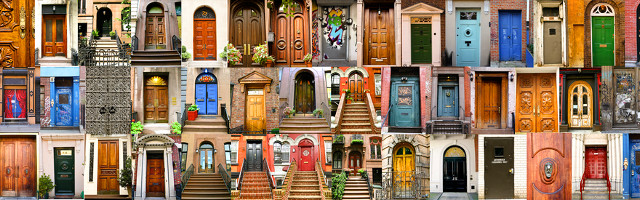 Door Color Schemes and Styles