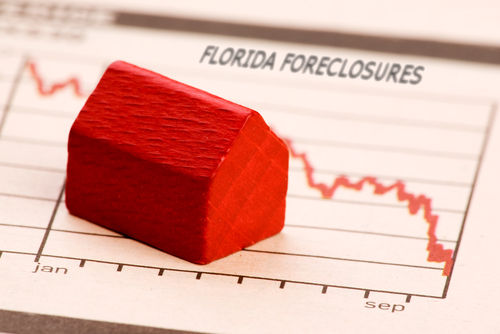 Foreclosure Update - Florida Drops a Spot - Fewer Foreclosures Filed