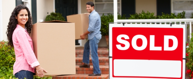 Home Buyers Moving to a New Home