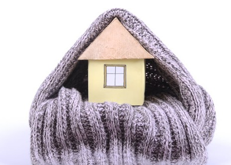 House and Scarf