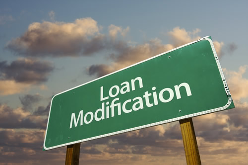 Loan Modification Green Sign