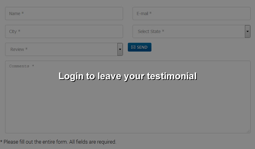 Login to leave your testimonial
