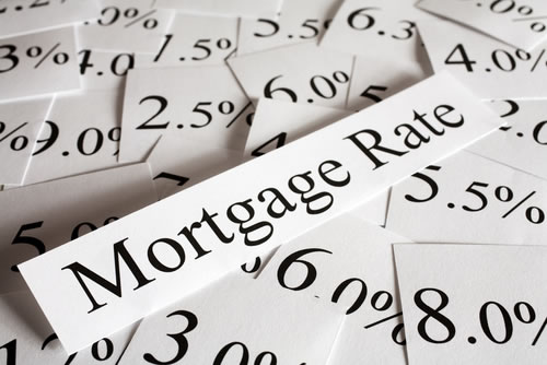 Mortgage Rates Percentages on Paper