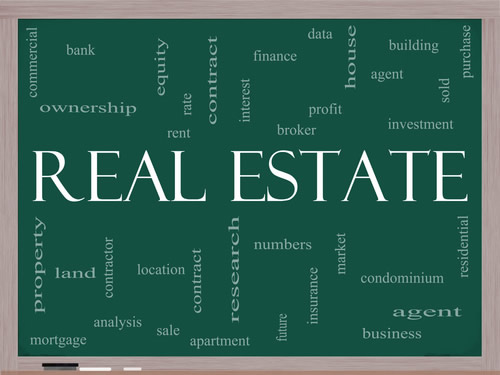 Real Estate on the Black Board