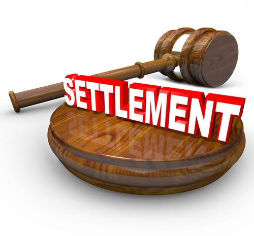 Settlement Word and a Gavel