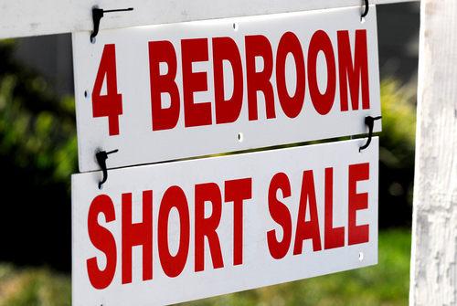 Short Sale 4 Bedroom Sign